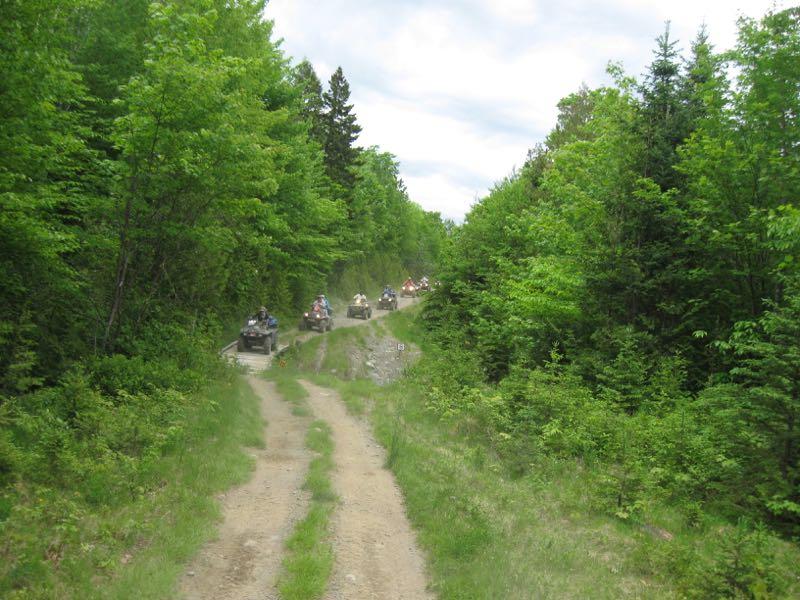 ATV Club Ride-Trail Shot