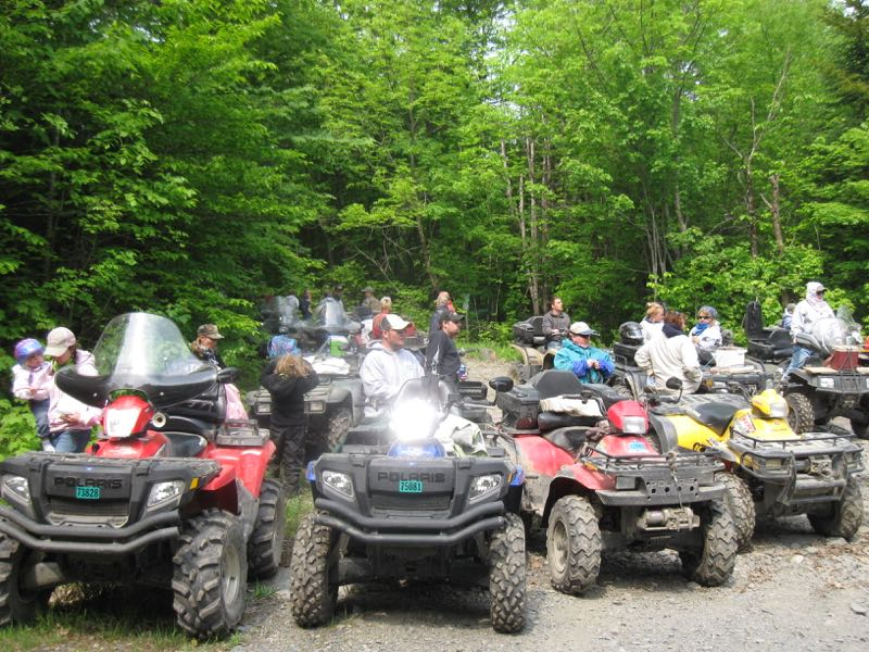 Beautiful Maine ATV Trails in the Upper Kennebec Valley