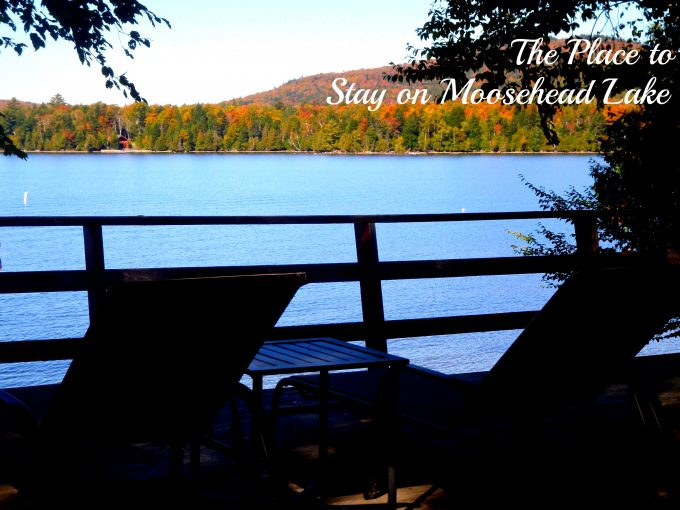 Cozy Moose Lakeside Cabin Rentals - Forks Area, Maine
