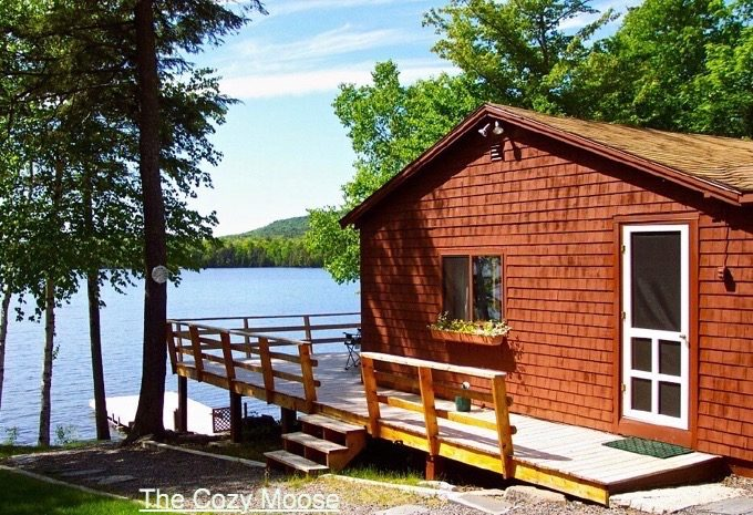 Cozy moose lakeside cabin rentals forks area chamber of for Fishing boat rentals near me